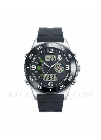 fe78dde5fbd2 Reloj Real Madrid hombre digital analógico esfera negra