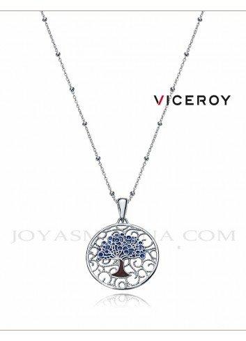 Gargantilla Viceroy plata arbol vida 1322C000-18
