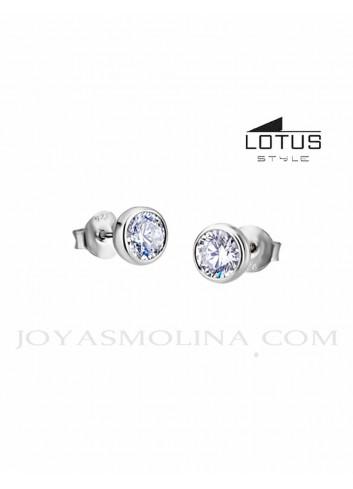 Pendientes Lotus