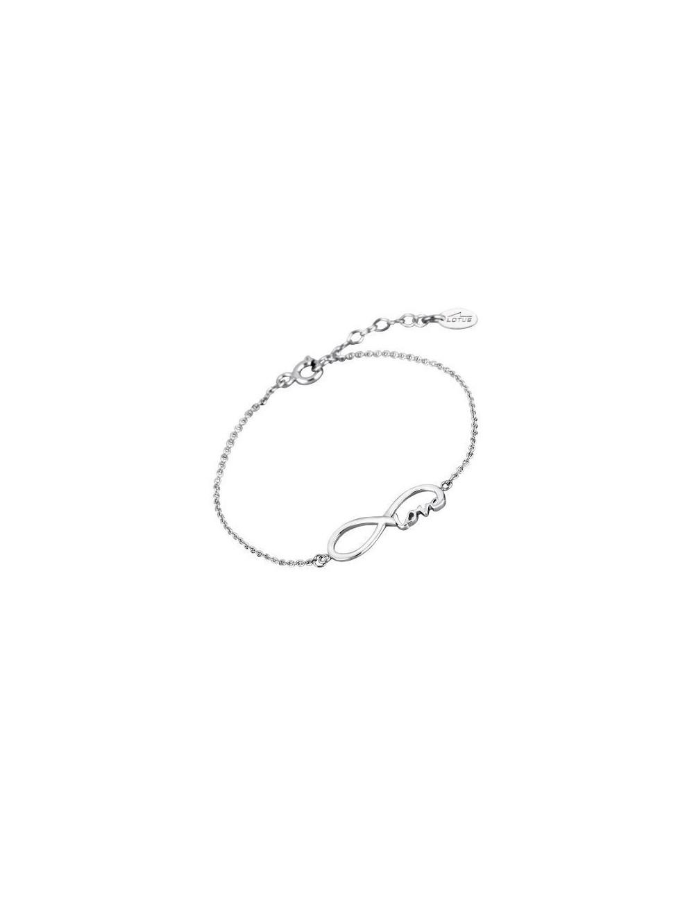 Pulsera plata infinito Love Colección con amor Lotus Silver LP1297-2/1