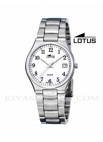 Reloj hombre Lotus cadena acero números 15192-2