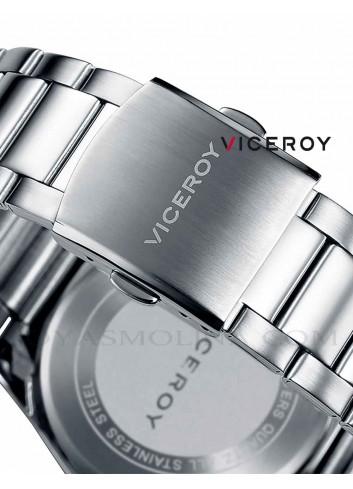 Reloj hombre Viceroy cadena acero cierre