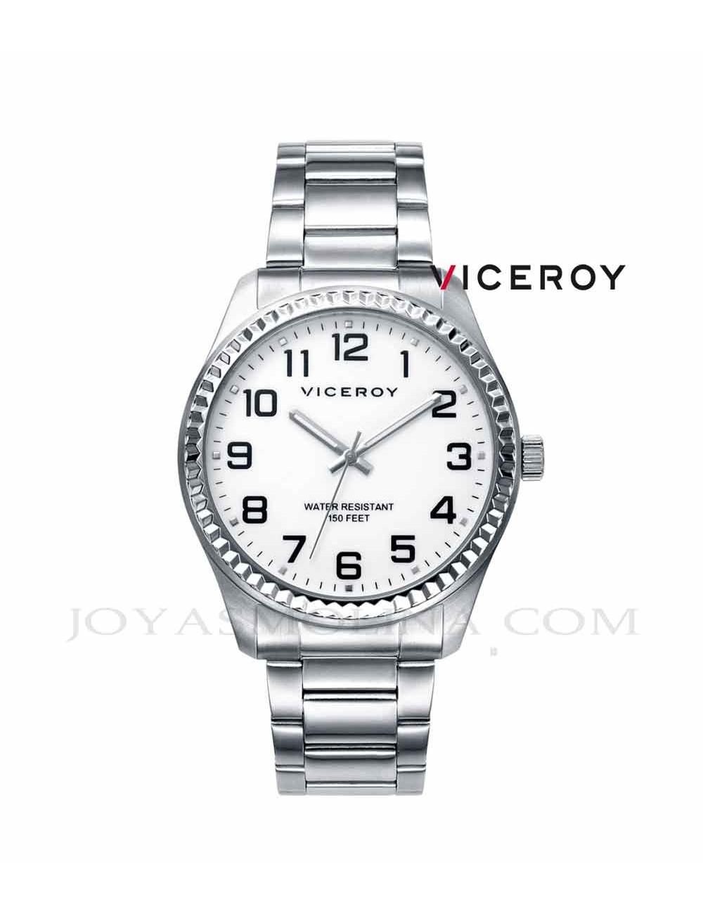 Reloj hombre Viceroy cadena acero números 40525-04