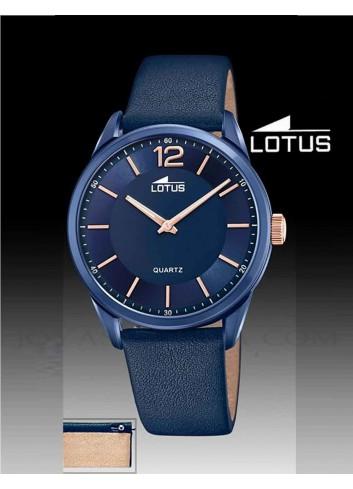 Reloj Lotus hombre cadena correa esfera azul 18735-1