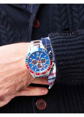 Reloj Lotus hombre cadena acero