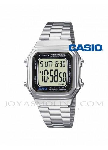 Reloj Casio digital vintage caballero A178WEA-1AES