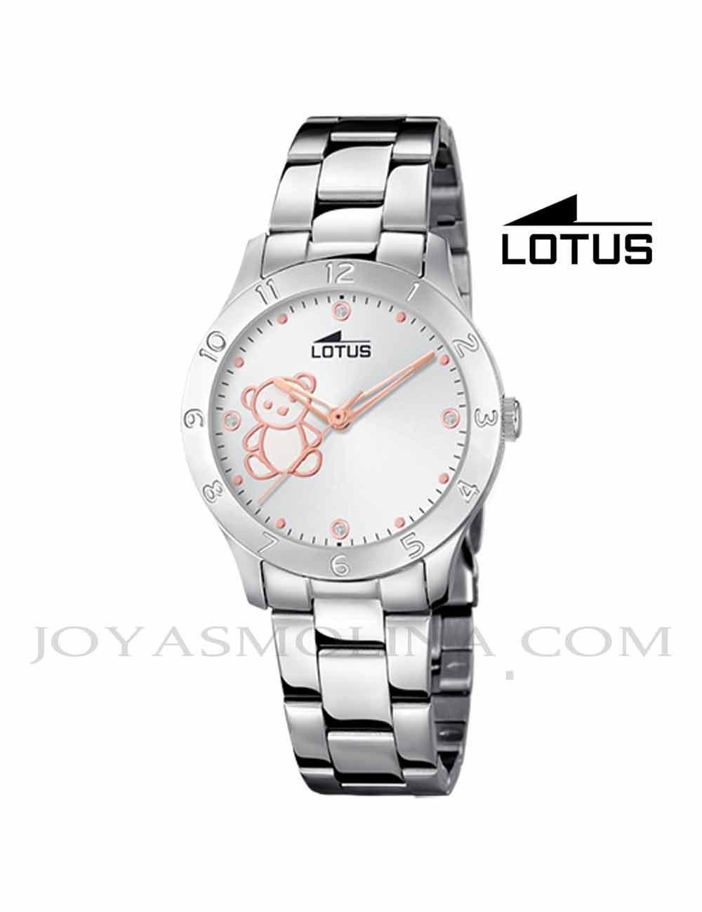 Reloj Lotus cadena oso 18657-1