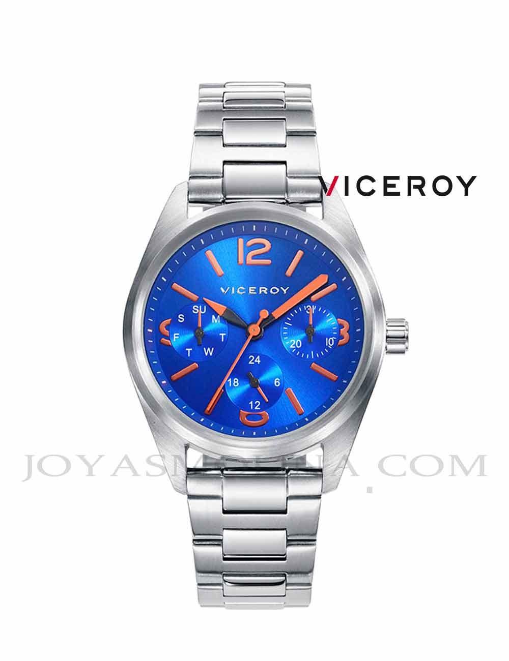Reloj niño Viceroy cadena multifunciones azul