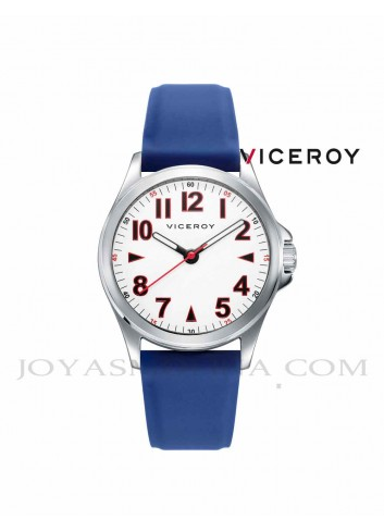 Reloj niño Viceroy correa silicona azul