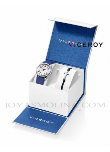 Reloj niño Viceroy correa con pulsera ancla regalo