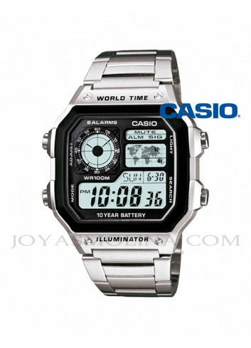 Reloj Casio digital retro hombre AE-1200WHD-1AV