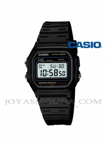 Reloj Casio digital negro W-59-1VQES
