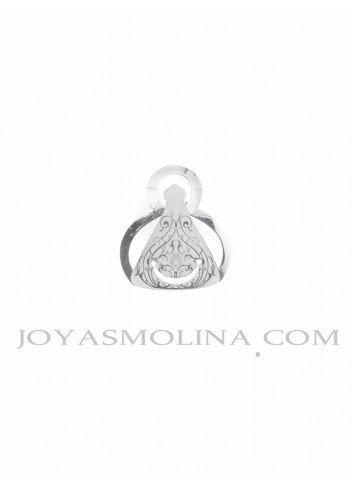 Virgen de la Cabeza plata