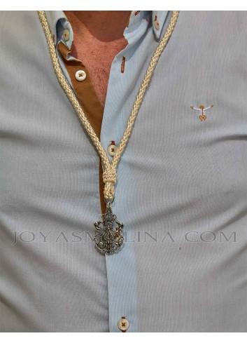 Medalla cofrade Virgen Cabeza hombre