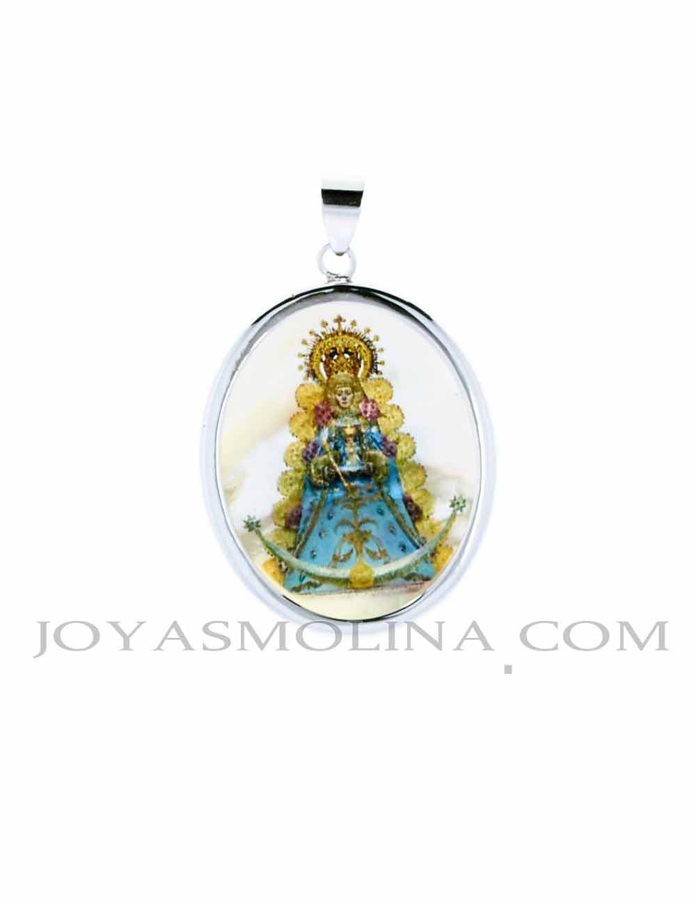 Medalla Virgen del Rocío color