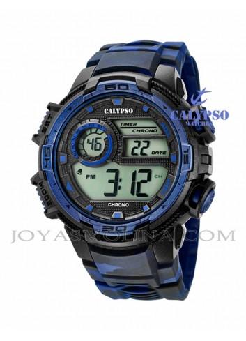 Reloj hombre Calypso digital goma K5723-1