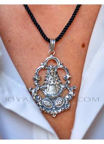 Medalla Virgen del Rocío plata
