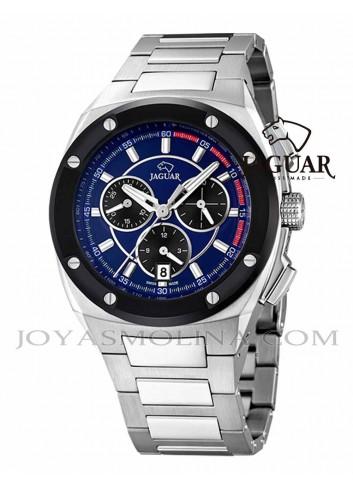 Reloj Jaguar hombre drver azul cronografo