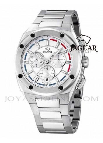 Reloj Jaguar hombre blanco cronografo