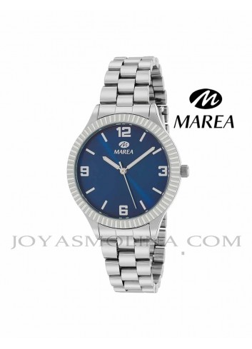 Reloj Marea mujer cadena B41254-7 esfera azul