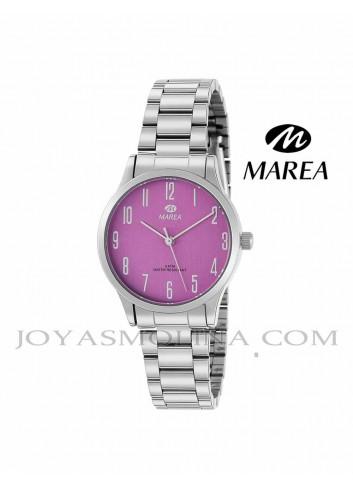 Reloj Marea mujer cadena B41242-7 esfera rosa