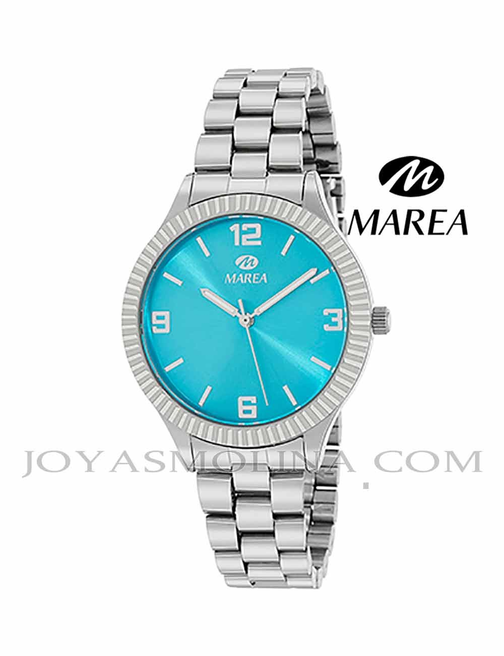 Reloj Marea mujer cadena B41254-3 esfera turquesa