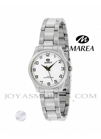 Reloj Marea mujer cadena B36100-2 blanco