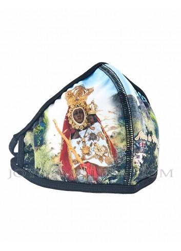 Mascarilla con foto Virgen de la Cabeza