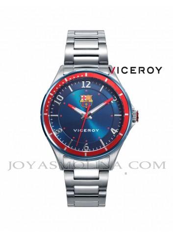 Reloj Barcelona niño esfera azul