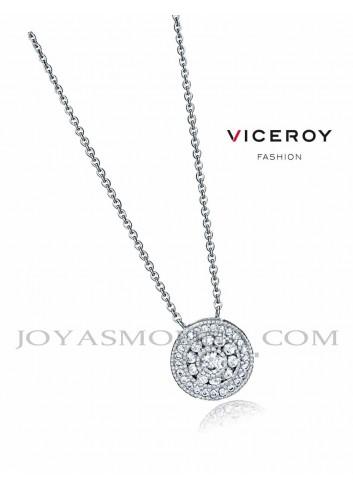 Gargantilla Viceroy Jewels con colgante circulo