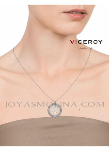 Colgante Viceroy arbol de la vida plata calado circonitas mujer