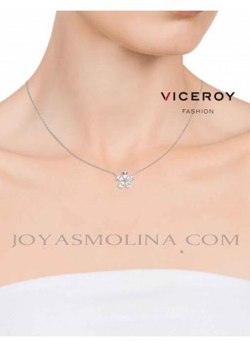 Gargantilla Viceroy Jewels con colgante flor mujer