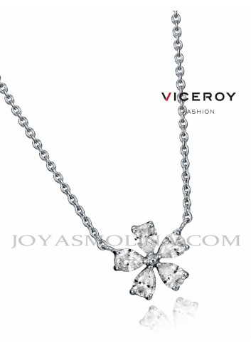Gargantilla Viceroy Jewels con colgante flor