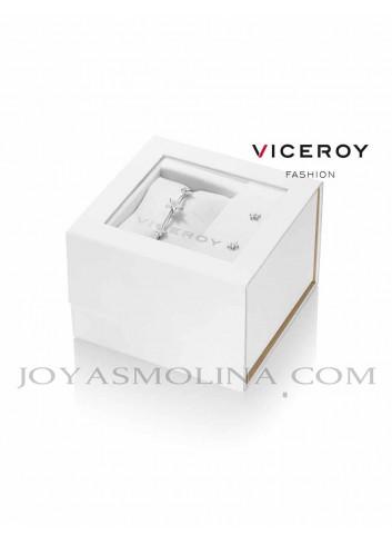 Pack brazalete Viceroy Fashion acero y pendientes estrella