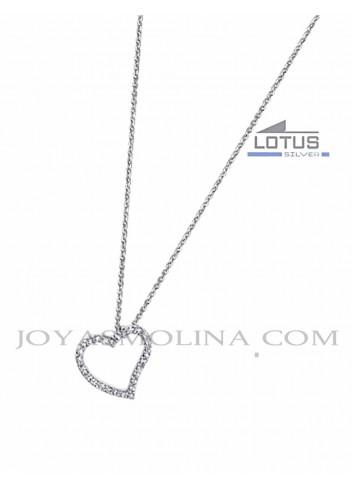 Gargantilla corazón Lotus