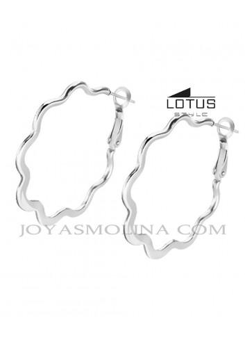 Aros Lotus Style acero forma