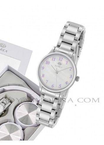 Reloj de comunión para niña con regalo