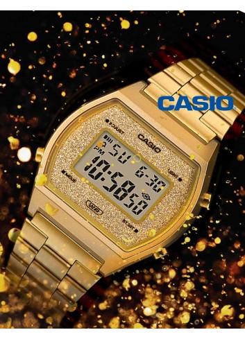 Reloj mujer casio dorado moda