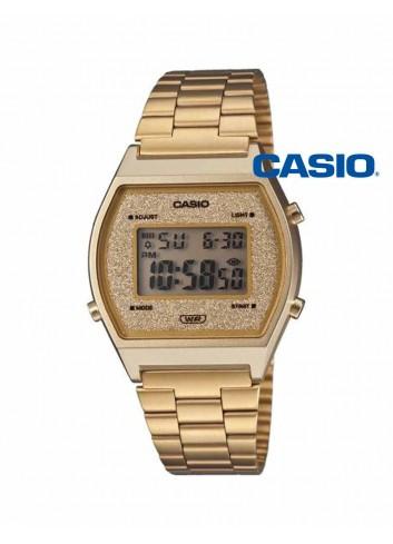Reloj Casio digital dorado vintage purpurina