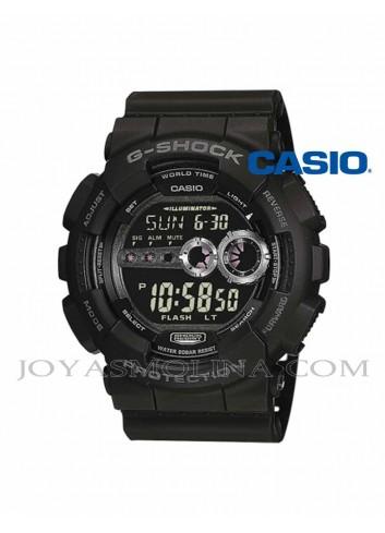 Reloj Casio G-SHOCK  hombre negro agujas gris