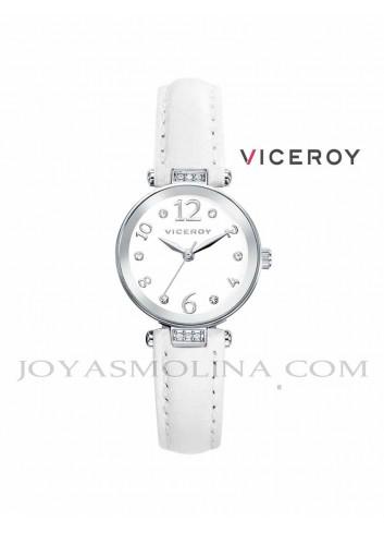 Reloj niña Viceroy correa blanco