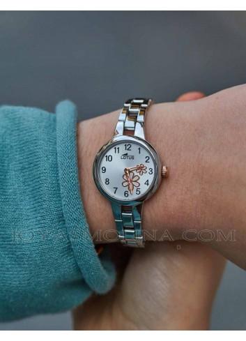 Reloj de niña con cadena