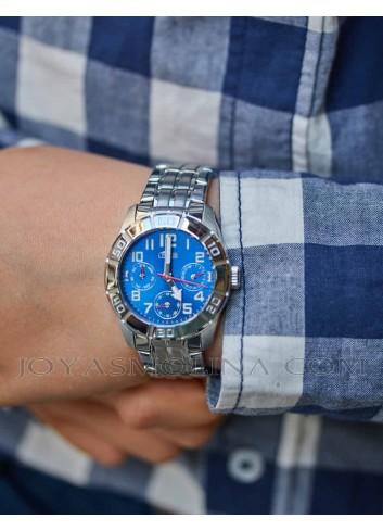 Reloj Lotus cadena acero