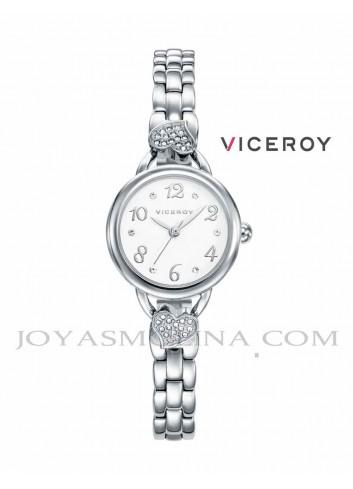 Reloj niña Viceroy cadena corazón
