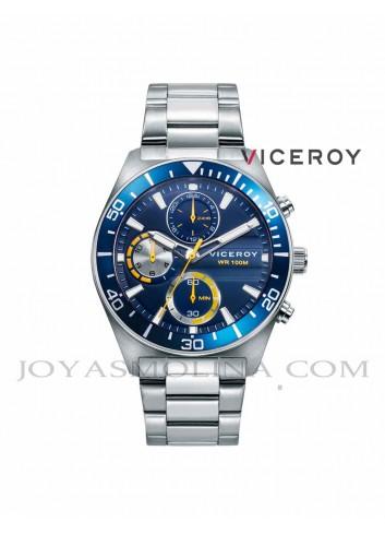 Reloj niño Viceroy cadena azul y amarillo