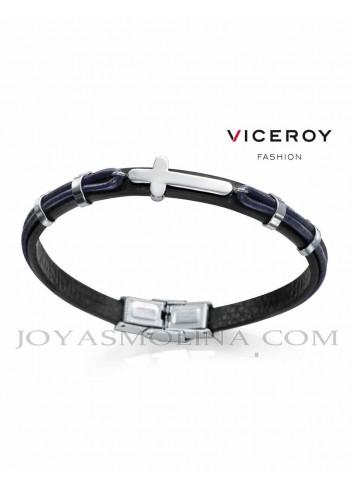 Pulsera hombre Viceroy moda cruz