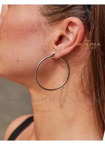 Pendientes de moda para mujer aro