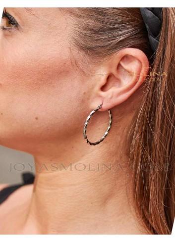 Pendientes de moda de aro para mujer