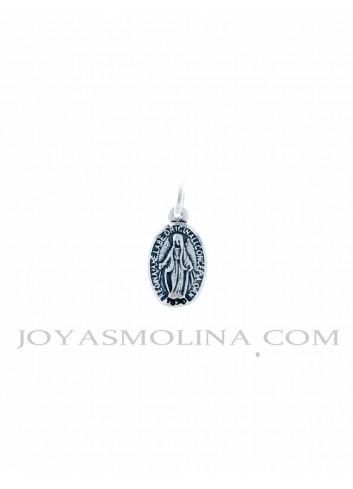 Medalla plata Virgen Milagrosa mini