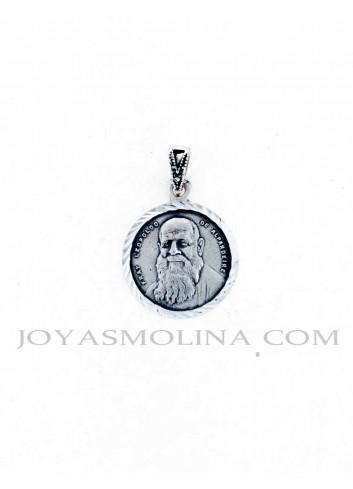 Medalla plata Fray Leopoldo de Alpandaire